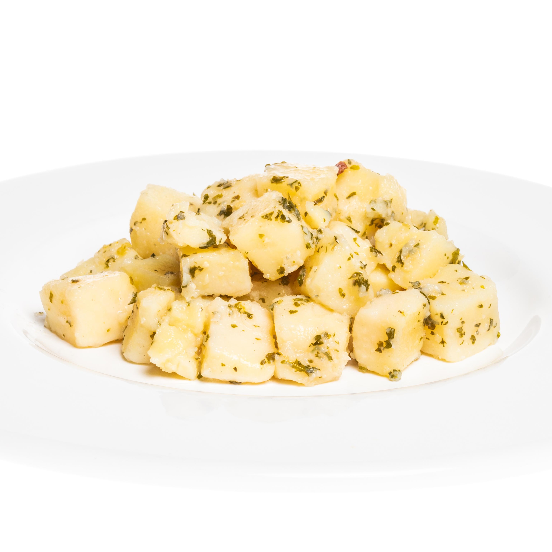 Bourgondische aardappelblokjes